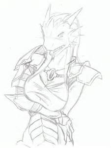 d d dragonborn template how to draw dungeons and dragons dragonborn sketch