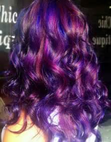 purple blue hair color purple to tealish blue ombre hair color hair colors ideas