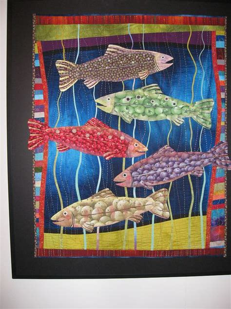Patchwork Fish Pattern - 17 best images about quilts quilting fish sea on