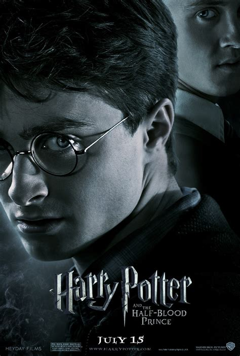 Harry Potter And The Blood Half Prince the database posters harry potter and the half blood prince 2009