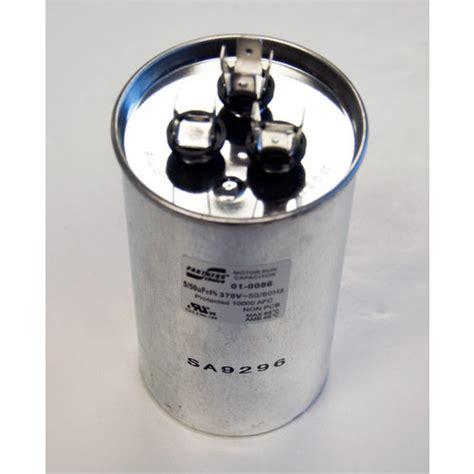 50 mfd capacitor 01 0086 nordyne 01 0086 50 5 mfd dual capacity capacitor 370v