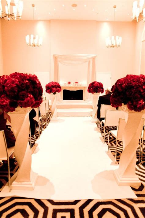 a black white and red wedding red and black wedding