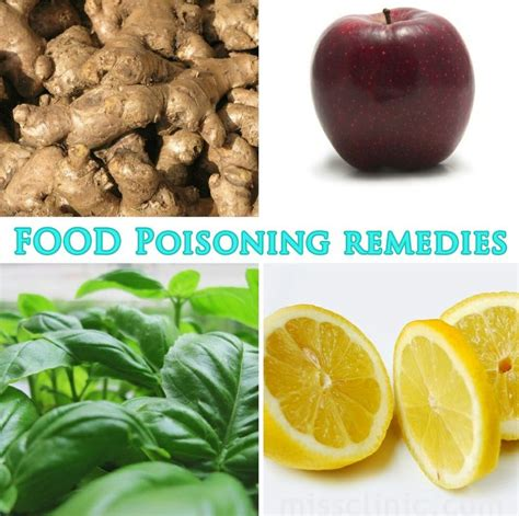 6 food remedies for food poisoning medicine