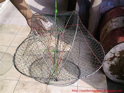 Perangkap Ikan Lipat 2 Lubang Jaring Bubu Portable Produksi Jaring Bubu Alat Penangkapan Ikan
