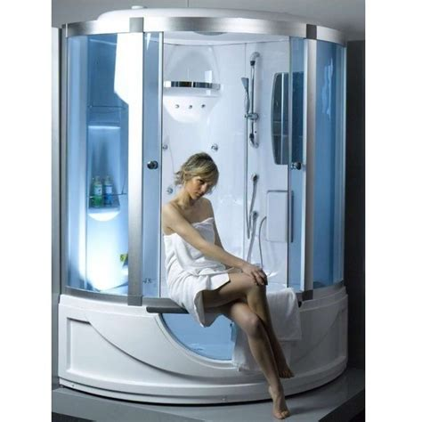 vasca idromassaggio con doccia cabina con vasca idromassaggio 135x135 bagno turco sauna