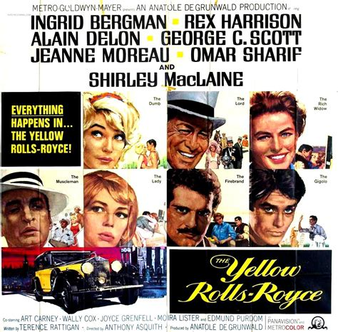 the yellow rolls royce 1964 the yellow rolls royce 1964 the revue