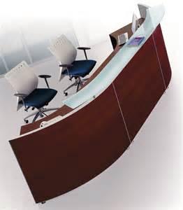 White Executive Desks Bralco Curved Modular Reception Desk 2 Office Furniture