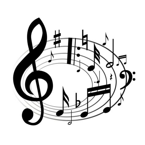 Note 9 Drawing by Note Gospel Musical Notes Clipart Cliparting