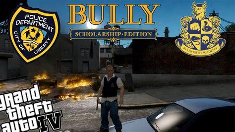 game bully mod chip gta iv lcpdfr bully scholarship jimmy hopkins mod police