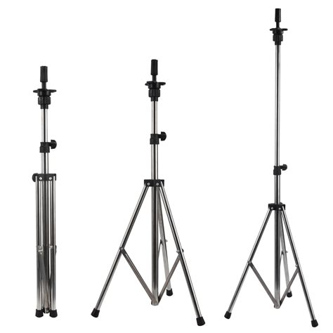 silver grey adjustable tripod stand mannequin