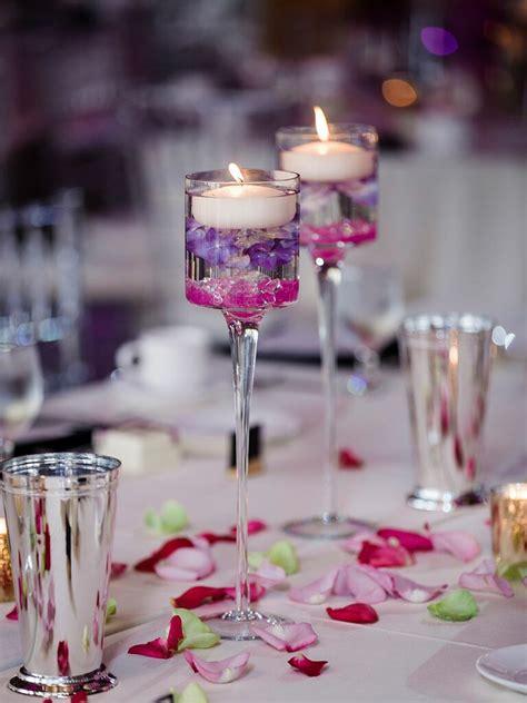 candle centerpieces wedding decor ideas