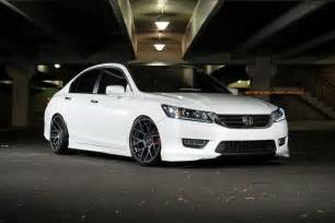 honda accord on 20x10 squared stance sc 8 stance wheels