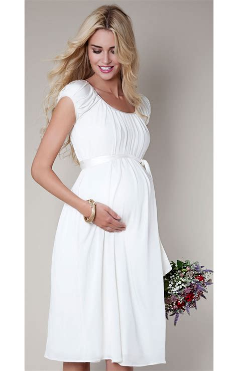 New House Design Photos by Claudia Maternity Gown Short Ivory Maternity Wedding