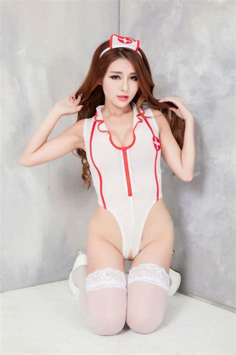 Pakaian Dalam Teddies jual beli costumer teddy suster putih merah 4158c baru pakaian dalam