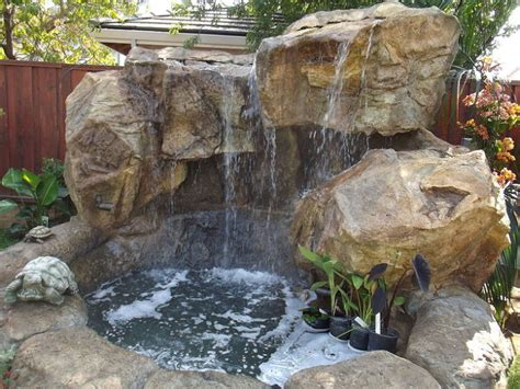 backyard water features nh waterfalls nh grottoes nh