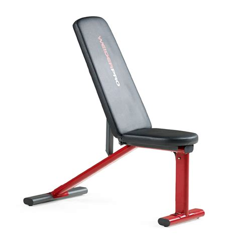 weider pro weight bench weider 15927 pro multi position utility bench sears