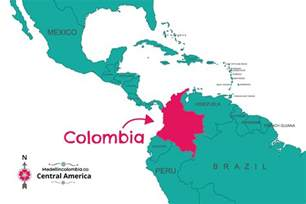 colombia on a world map where is medellin located medellincolombia co