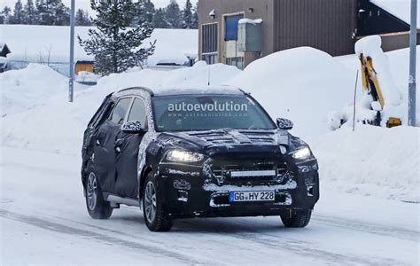 Hyundai Tucson 2019 Facelift by 2019 Hyundai Tucson Facelift Spied Undergoing Winter