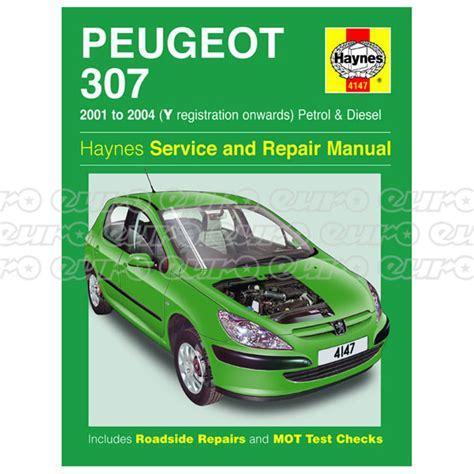 peugeot 307 manual pdf haynes workshop manual peugeot 307 petrol diesel 01