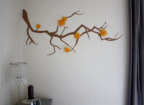 wall flower decoration ideas craft of the day an adorable wall decoration that s free