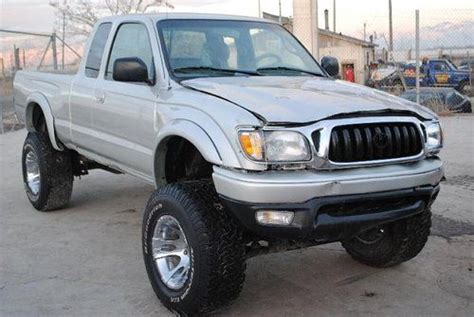 2004 Toyota Tacoma Mpg Purchase Used 2004 Toyota Tacoma Xtracab V6 4wd Damaged