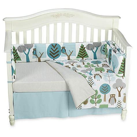 Dwell Studio Owl Crib Bedding Dwellstudio 174 Owls Sky 4 Crib Set 100 Cotton Bed Bath Beyond