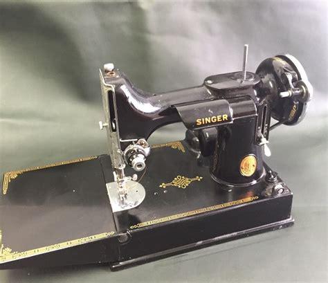 singer featherweight 221 1 sewing machine ebay antique 1946 portable singer sewing machine featherweight