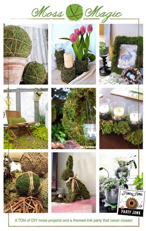 funky diy home decor party junk 181 diy moss projects funky junk