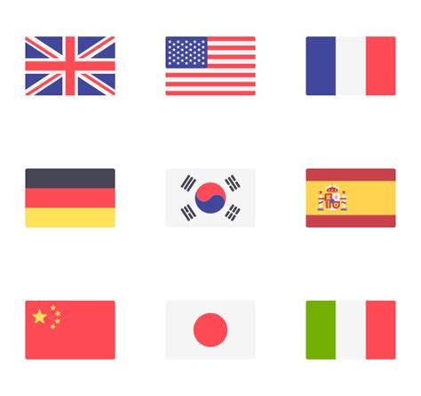 flags of the world download png 52 flag icon packs vector icon packs svg psd png