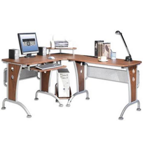 scrivanie ad angolo per pc scrivania ad angolo per pc ciliegio punto ufficio corato