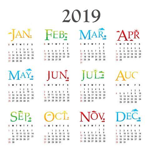 new year 2019 calendar 10 best 2019 calendar designs ideas calendar 2019