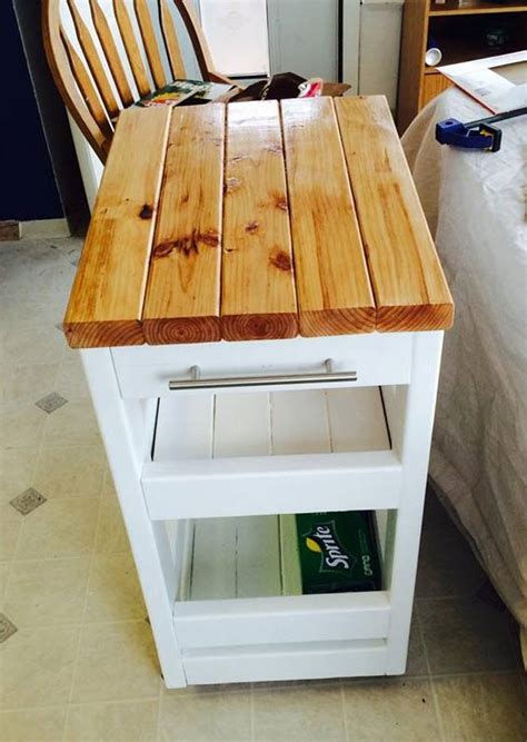 how to build a kitchen island cart 21 creative 2x4s building projects to try homesthetics