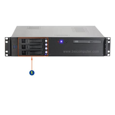 Rack Mount Pc by 2u 15 Quot Depth Industrial Rack Mount Computer With Three 3 5