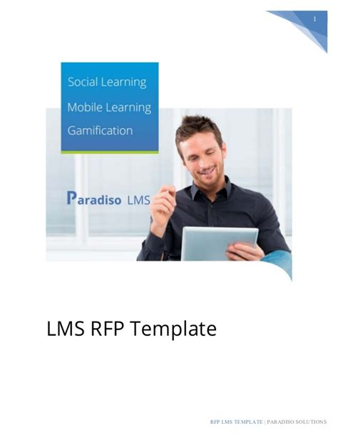 lms rfp template lms rfp template sle