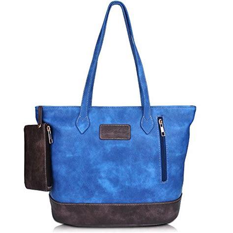 Tote Bag Pu Leather Import zmsnow designer pu leather tote handbag shoulder mix color bag import it all