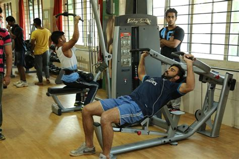 gym pictures ramaiah institute of technology bengaluru