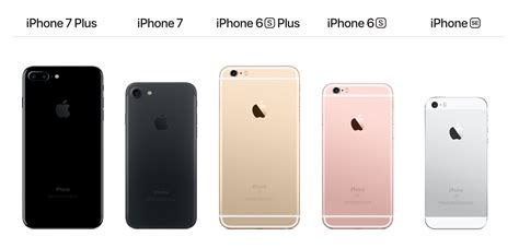 the iphone 7 the iphone 7 plus the iphone 6 and the iphone se which one should you buy
