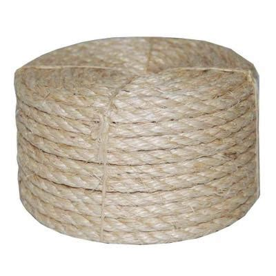 t w cordage 1 2 in x 100 ft twisted sisal rope 23
