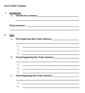 Blank outline template 7 download free documents in pdf word