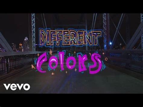 different colors lyrics walk the moon different colors lyrics songs