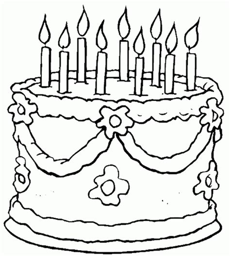 birthday coloring pages for toddlers happy birthday coloring pages for az coloring pages