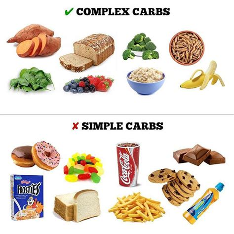 carbohydrates health simple carbohydrates vs complex carbohydrates our