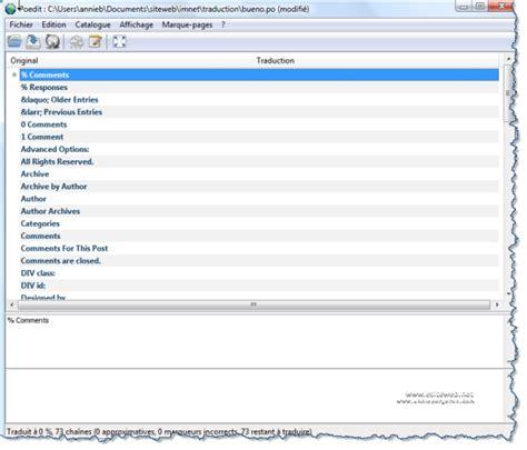 comment traduire layout en francais wordpress th 232 me comment traduire un th 232 me wordpress en