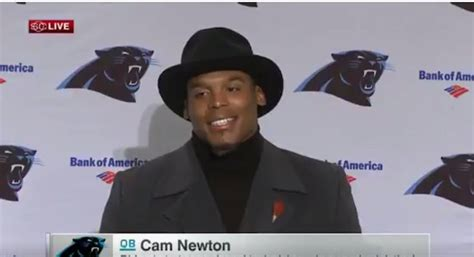 cam newton benched cam newton explains why he wasn t wearing a tie video