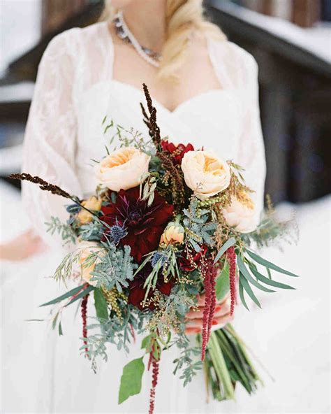 Wedding Flower July Pictures by 52 Gorgeous Winter Wedding Bouquets Martha Stewart Weddings