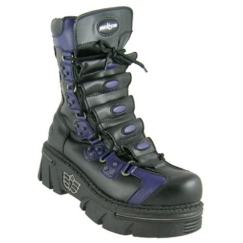 fish boots mad fish black purple big shark vegan boot mad fish