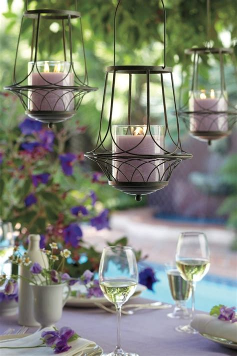 Garden Accents Citronella Candle Garden Sanctuary Hanging Lantern And Glolite By Partylite