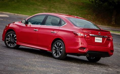 nissan sentra 2018 2018 nissan sentra starts at 17 875 the torque report