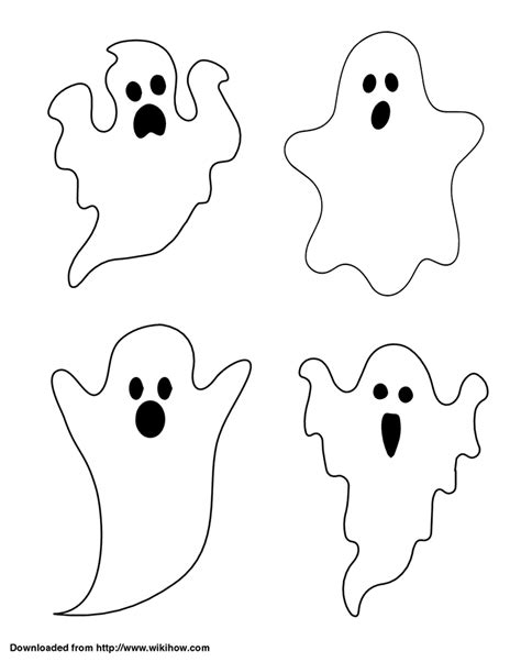 ghost templates for blogger fun halloween window templates crafty croc