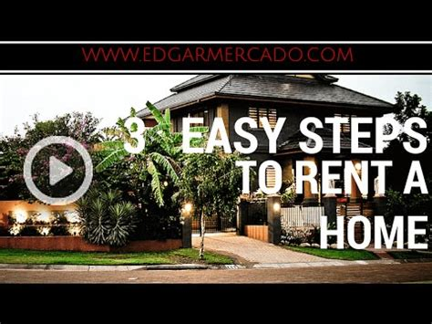 steps to renting an apartment rent a house or an apartment in 3 easy steps youtube